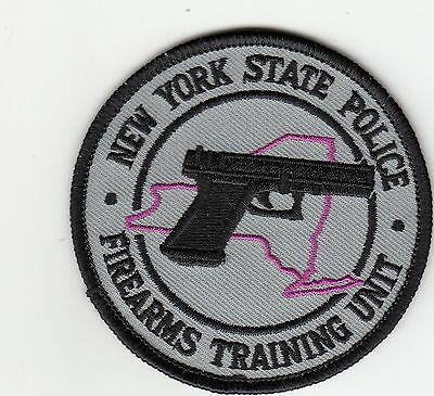 New York State Firearms Training Unit Police Patch Ny