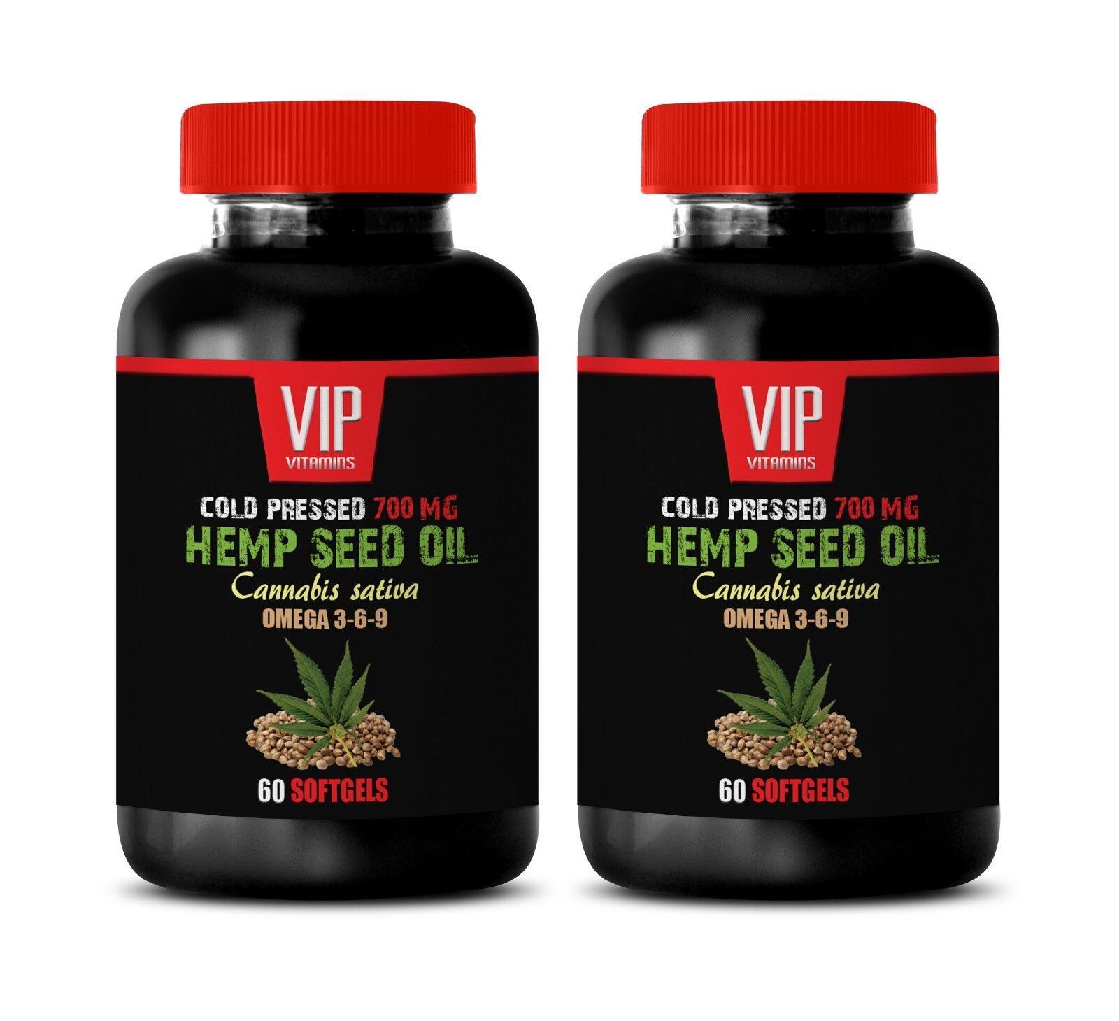 hemp oil in capsule form - COLD PRESSED HEMP SEED OIL 700MG