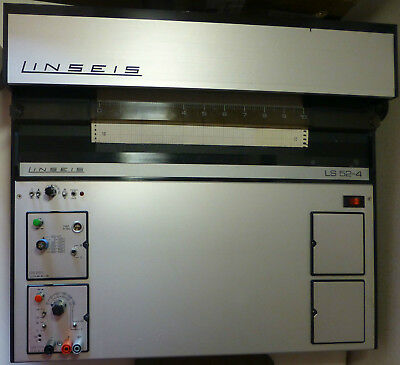 Linseis LS52-4 Flachbettschreiber / Flatbed chart recorder