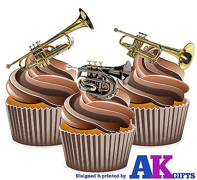 12 Edible Stand Up Premium Wafer Cake Toppers MACMILLAN MIX A