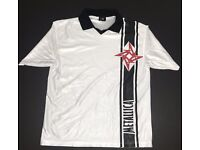 Metallica 2009 Death Magnetic Soccer Jersey Shirt New Official