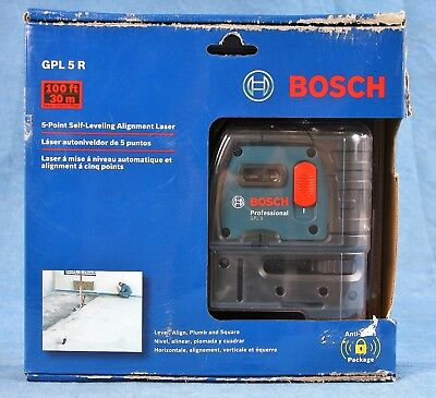 Bosch 5-point Self-leveling Alignment Laser Gpl 5 R