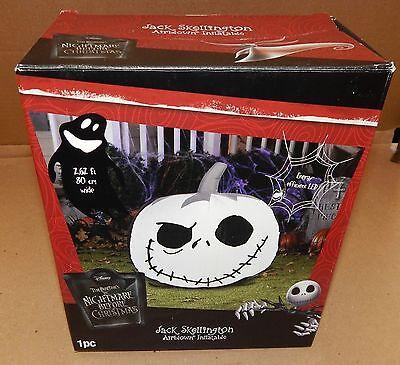 Halloween Jack Skellington Airblown Inflatable LED Disney 2.6ft Tim Burton 124S (Disney Halloween Inflatable Yard Decorations)