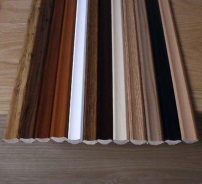 Laminate Flooring Beading / Edging, 2.4 metre lengths, Pack Quantities, Free P&P