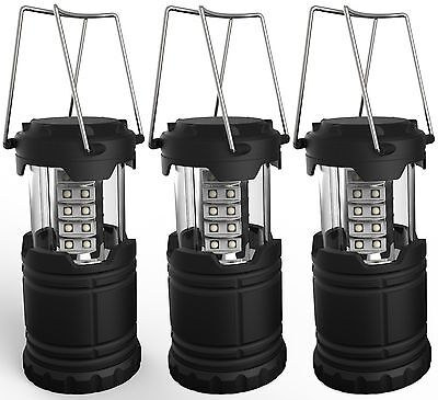 Portable LED Camping Lantern Lemontec water resistant Ultra Bright 30 LED Lan...