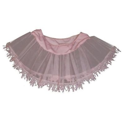 Pink Teardrop Lace Petticoat Child Size Small / Medium
