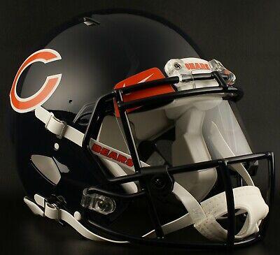 CHICAGO BEARS NFL Gameday REPLICA Football Helmet w/ NIKE Eye Shield Chicago Bears Nfl Eye