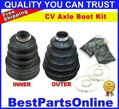 CV Front Axle Inner & Outer Boots for Chrysler Town & Coutry 2WD 2005-2007, usado segunda mano  Embacar hacia Mexico