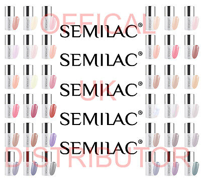 Semilac LED UV Hybrid Manicure Gel Nail Polish Pick From - Business Line Colours