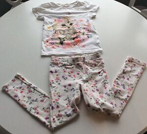 H &M Top And Pants Girls Childs 7 Year Old  Cambridge Kitchener Area image 1