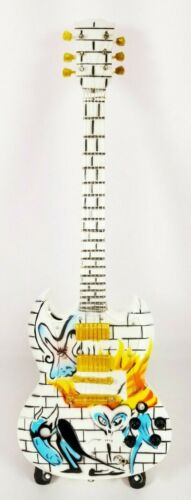 Pink Floyd The Wall Miniature Tribute Guitar with Stand - FLOYD18