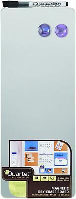 Magnetic Whiteboard Tile 5 12 X 14 Dry Erase Board White Frameless Silver