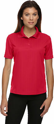 Extreme Venture Women's Polyester Short Sleeve Knit Collar Polo Shirt Tee. 75055 Ladies Short Sleeve Polo Shirt