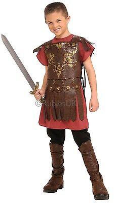Jungen Römische Gladiator Krieger Schule Party Kostüm Outfit - Römische Gladiator Outfit