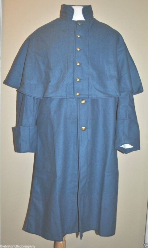 Great Coat - Sky Blue - Sizes 32-50 - Civil War - FREE SHIPPING!!