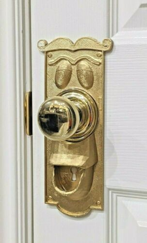 Alice In Wonderland Doorknob backplate