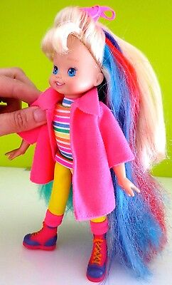 Rare Hallmark Rainbow brite  color glo Doll 9''