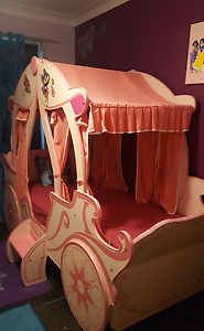 Pink Princess Carriage Bed. Wollongong Wollongong Area Preview