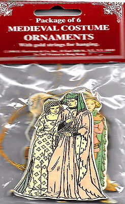 MEDIEVAL COSTUME CHRISTMAS ORNAMENT s Factory Sealed MINT Condition Shackman](Christmas Ornament Costume)