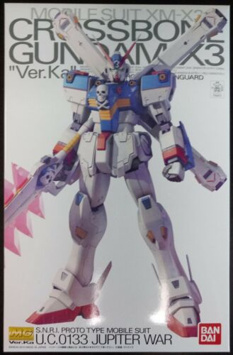 MG Master Grade 1/100 Crossbone Gundam X3 Premium Bandai Exclusive Model Kit