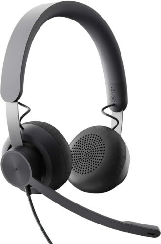 Logitech 981-000871 Zone Wired Noise Cancelling Headset for Microsoft Teams, New