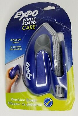 Expo White Board Care Precision Eraser W 8 Peel-off Layers - Newsealed