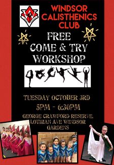 Free Come & Try Dance Workshop