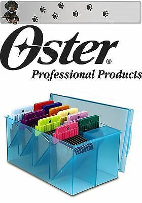 Oster Golden A5 Stainless Steel Attachement Comb Set 10 Pack 1,6 mm - 50 MM for sale  Shipping to Ireland