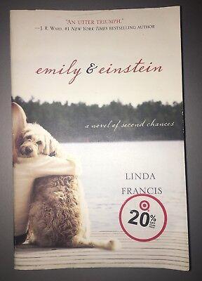Emily & Einstein Paperback Novel Book Summer Reading Best Seller Linda