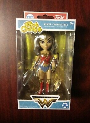 Funko Rock Candy DC Wonder Woman With Shield Hot Topic Exclusive ()