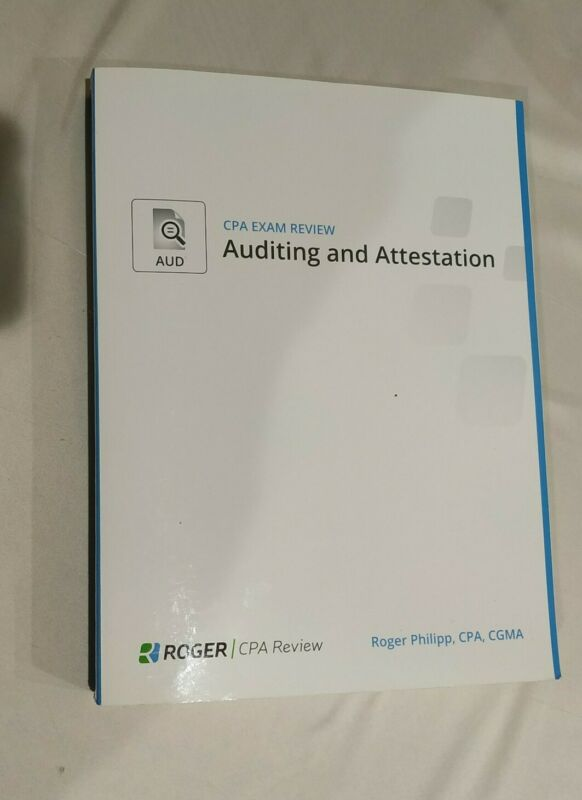 Roger Cpa Exam Review Auditing And Attestation Aud 2015 By Roger Philipp