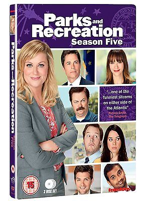 Parks and Recreation Complete Season 5 - DVD NEW & SEALED (3 Discs)     (series)