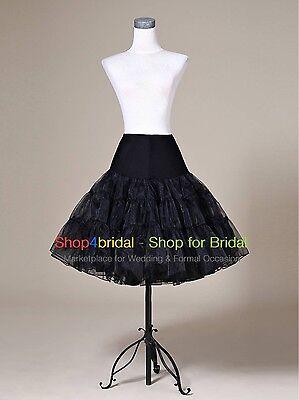 Black/White/Red Swing Prom Silps Crinoline Petticoat Underskirt Vintage TUTU 50s (White Crinoline Petticoat)