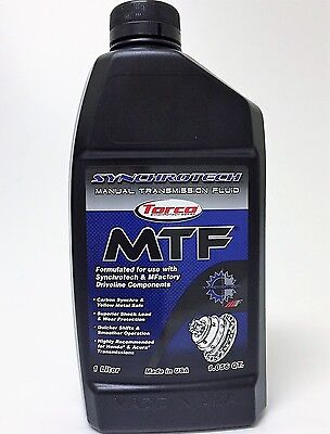 Synchrotech MTF Manual Transmission Fluid (by Torco) 1 Liter Bottle