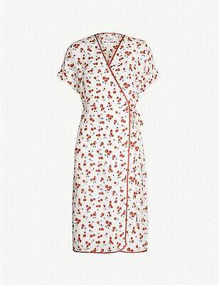 HVN Vera Silk Wrap Dress BNWT RRP £560
