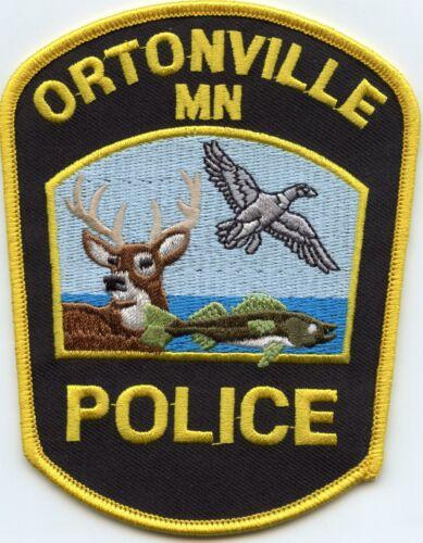 ORTONVILLE MINNESOTA MN Deer Fish Duck Wildlife POLICE PATCH