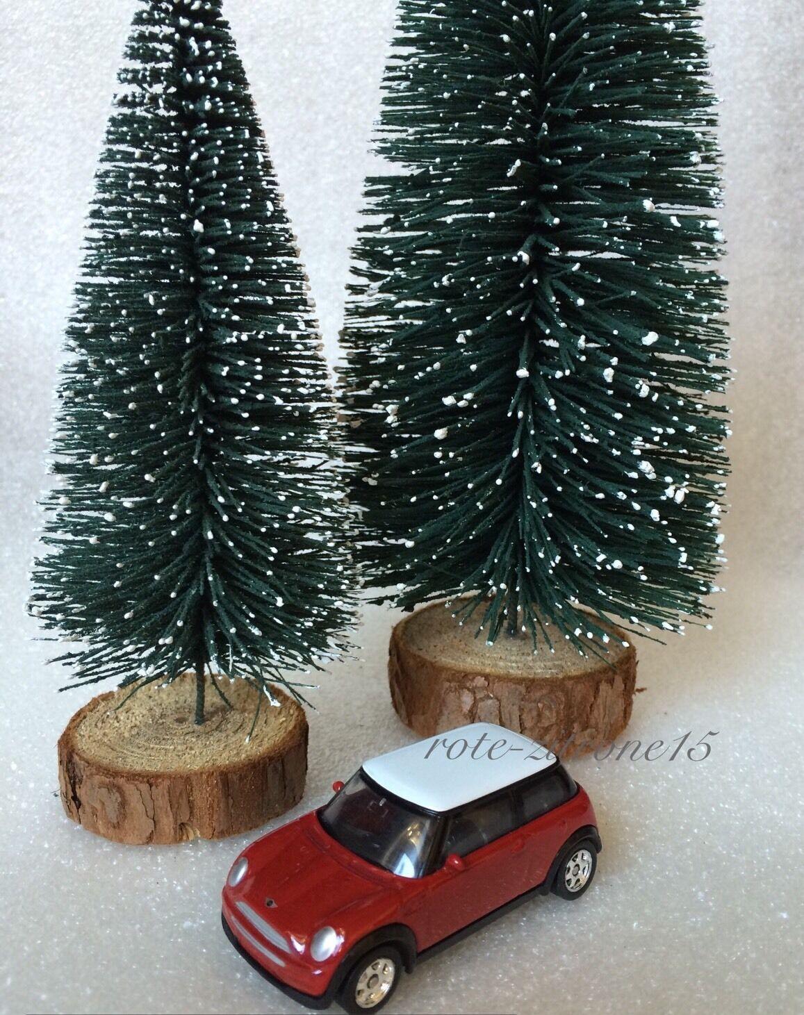 2x mini weihnachtsbaum weihnachten advent baum christbaum. Black Bedroom Furniture Sets. Home Design Ideas