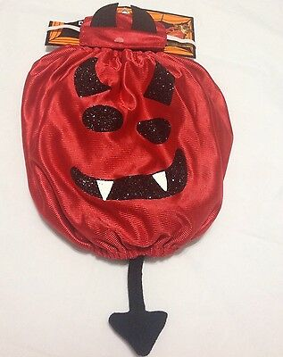 Simply Dog Devil 2 Piece Halloween Costume Size XS/S - Devil Dog Halloween Costume