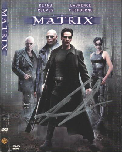 """Keanu Reeves Hand Signed The Matrix DVD """"Neo"""" Authentic Autograph JSA COA"""