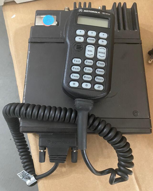 W3 482-512mhz MOTOROLA ASTRO SPECTRA  UHF P25 DIGITAL MOBILE RADIO