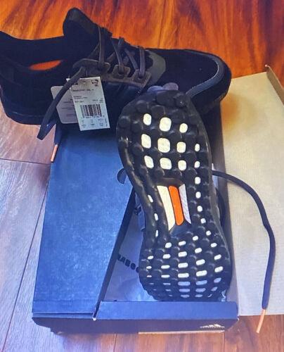 ADIDAS Ultra Boost S&L Running Shoes Triple Black Granite Carbon EF1361 Sz 10.5
