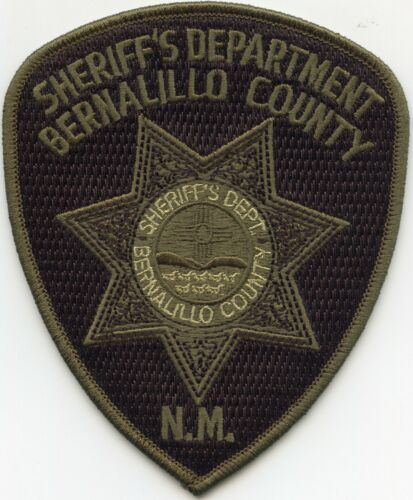 BERNALILLO COUNTY NEW MEXICO NM subdued SHERIFF POLICE PATCH