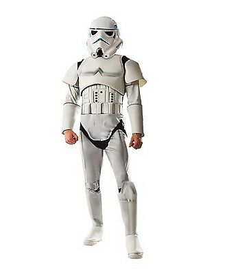 NWT STAR WARS ADULT STORM TROOPER COSTUME - DARK SIDE MEN'S OUTFIT STORMTROOPER ()