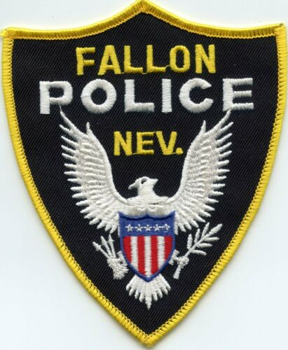 FALLON NEVADA NV POLICE PATCH