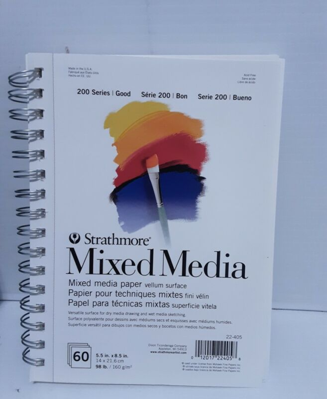 Strathmore Mixed Media Paper 200 Series