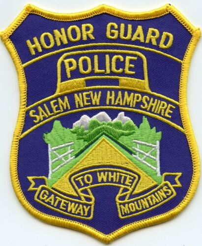 SALEM NEW HAMPSHIRE NH Gateway To White Mountains HONOR GUARD POLICE PATCH