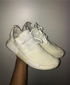 Triple White Adidas NMD US11.5