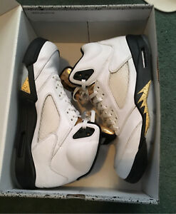 Jordan retro 5 Olympic Gold size 10.5