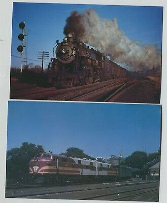 For sale 2 Boston & Maine Railroad Greenfield & Belmont Massachusetts Postcards