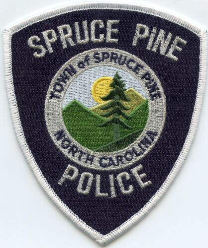 SPRUCE PINE NORTH CAROLINA NC POLICE PATCH